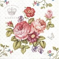 Elegant Roses I Fine Art Print