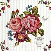 Elegant Roses II Framed Print