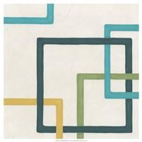 Infinite Loop IV Framed Print