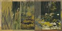 Lotus Panel II Fine Art Print