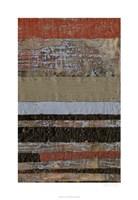 Wax Textures II Framed Print