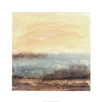 Turquoise Vista I Fine Art Print