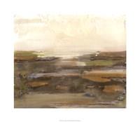 Organic Landscape I Framed Print