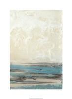 Aqua Seascape II Fine Art Print