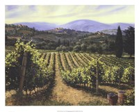 Tuscany Vines Framed Print