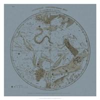 Southern Circumpolar Map Fine Art Print