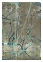 Fluid Sea II Framed Print