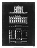 Graphic Building & Plan IV Fine Art Print