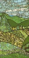 Green Landscape I Framed Print