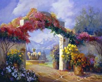 Garden Peace Fine Art Print