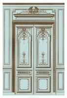 French Salon Doors I Framed Print