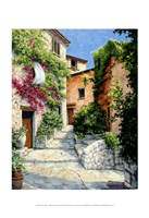 In the Alpes-Maritime, Provence Fine Art Print