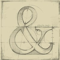 Drafting Symbols II Fine Art Print