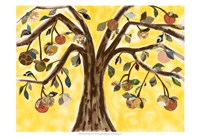 Yellow Orange Tree Fine Art Print