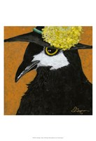 You Silly Bird - Marty Fine Art Print