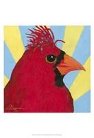 You Silly Bird - Mo Fine Art Print