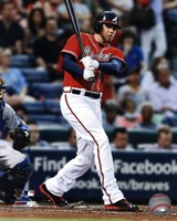 Freddie Freeman 2013 Action Fine Art Print