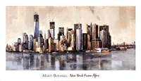 New York From Afar Fine Art Print