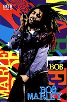 Bob Marley - Name Framed Print