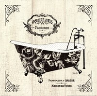 French Bath II- Tub Fine Art Print