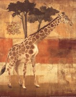 Animals on Safari I Fine Art Print