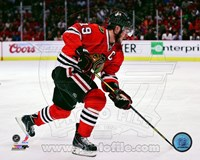 Jonathan Toews 2012-13 Playoff Action Fine Art Print