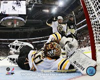 Tuukka Rask 2012-13 Playoff Action Fine Art Print