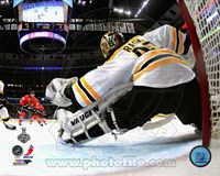 Tuukka Rask Game 2 of the 2013 Stanley Cup Finals Action Fine Art Print