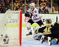 Jonathan Toews Goal Game 4 of the 2013 Stanley Cup Finals Fine Art Print