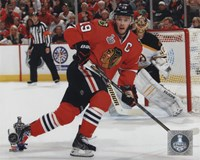 Jonathan Toews Game 5 of the 2013 Stanley Cup Finals Action Fine Art Print
