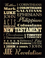 New Testament Fine Art Print