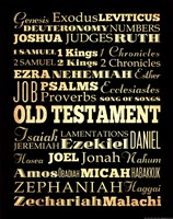 Old Testament Fine Art Print