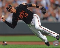 Manny Machado 2013 Action Fine Art Print
