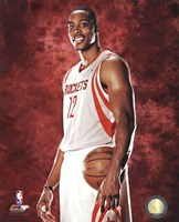 Dwight Howard #12 of the Houston Rockets posed Fine Art Print