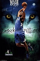 Minnesota Timberwolves - D Williams 13 Wall Poster