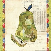 Fruit Collage III - Pear Fine Art Print