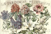 Le Jardin Printemps Fine Art Print
