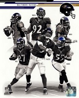 Baltimore Ravens 2013 Team Composite Fine Art Print