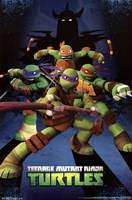 Teenage Mutant Ninja Turtles - Assemble Framed Print