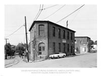 Salem Manufacturing Company, Arista Cotton Mill, Winston-Salem, Forsyth County, NC Fine Art Print