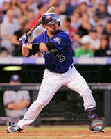 Michael Cuddyer 2013 Action Fine Art Print