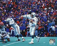Dan Marino 1995 Action Fine Art Print