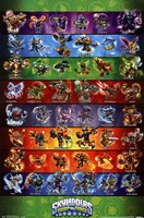 Skylanders Swap Force - Grid Wall Poster