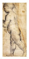 Study for the Figure of the Infant Saint John the Baptist Fine Art Print