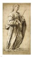 Saint Lucy Fine Art Print