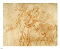 Centaur and Lapith Fine Art Print