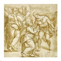 The Incredulity of Thomas Fine Art Print