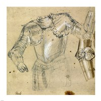 Studies of Armor Fine Art Print