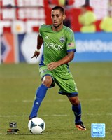 Clint Dempsey 2013 Action Fine Art Print