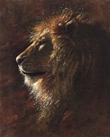 His Majesty Fine Art Print